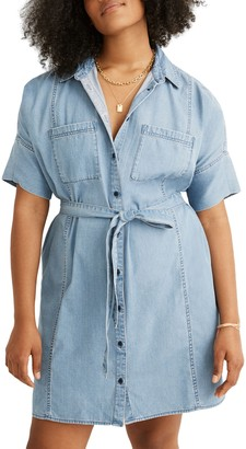 Madewell Seamed Courier Dress