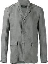Transit - striped blazer - men - Cotton/Linen/Flax - M
