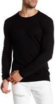 Scotch & Soda Long Sleeve Lightweight Crew Neck Wool Sweater