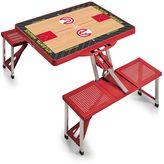 Picnic Time Atlanta Hawks Portable Folding Picnic Table