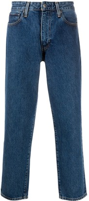 Levi's Made & Crafted low rise cropped jeans