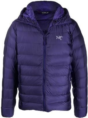 Arc'teryx Cerium hooded puffer jacket