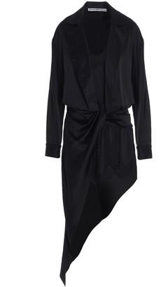 Alexander Wang Asymmetric Draped Dress