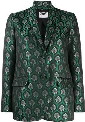 Blumarine Be metallic patterned blazer