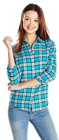 U.S. Polo Assn. Juniors Long-Sleeve Plaid Flannel Shirt