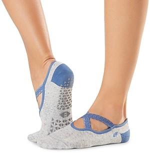 Tavi Noir Chloe Crossover Grip Barre Socks