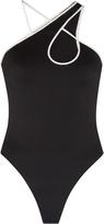 David Koma Asymmetrical Keyhole Bodysuit