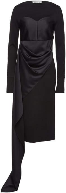 Maison Margiela Draped Dress with Wool
