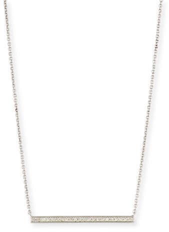 Sydney Evan Medium Diamond Bar Necklace