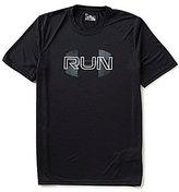 Under Armour Run Overlap Logo T-Shirt