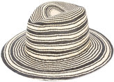 Rag & Bone striped panama hat - women - Straw - L