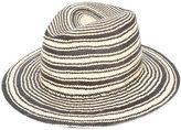 Rag & Bone striped panama hat - women - Straw - M
