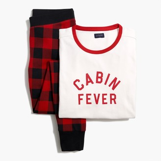 "J.Crew ""Cabin fever"" cotton sleep set"