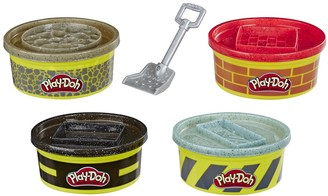 Play-Doh Wheels Buildin' Compound 4-Pack Bundle of Extra Large Cans