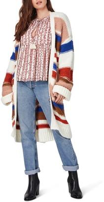 Lost + Wander High Vista Stripe Duster Cardigan