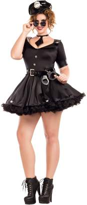 Party King Women's Cuff Me Honey Plus Size Costume