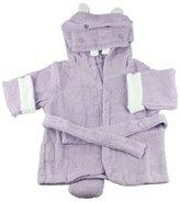 BabyH Hooded Bath Towel Infant Hippo Robe Hug Alot Amus-Purple M