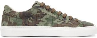 Hide&Jack Camouflage Low-Top Sneakers
