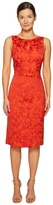 Zac Posen Party Jacquard Sleeveless Dress Women's Dress