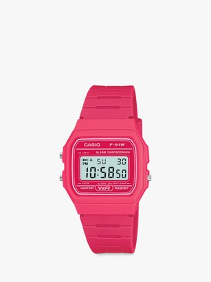Casio Unisex Core Digital Chronograph Resin Strap Watch