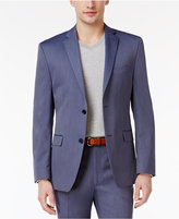 Alfani Men's Slim-Fit Light Blue Tic Jacket, Only at Macy's