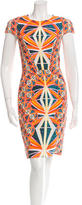 Peter Pilotto Geometric Print Sheath Dress w/ Tags