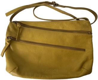 American Vintage Yellow Leather Handbags