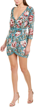 retrofete V-Neck Wrap Dress