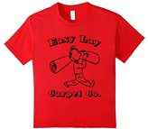 Women's Easy Lay Carpet Co. T-Shirt funny saying sarcastic novelty Small