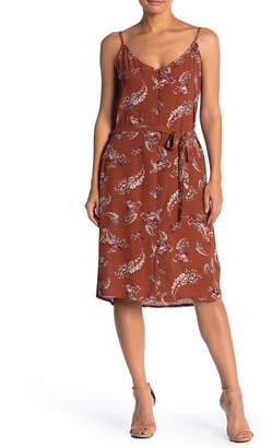 Bishop + Young Waist Belt Print Dress