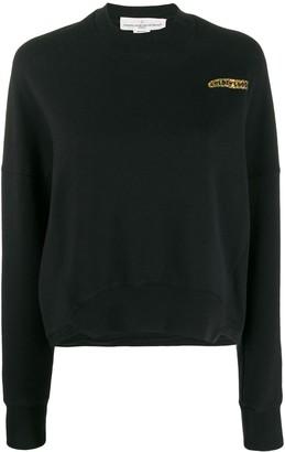 Golden Goose Chest Logo Boxy Sweatshirt