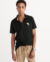 Abercrombie & Fitch Stretch Pique Polo