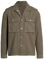 7 For All Mankind Military Shirt Jacket