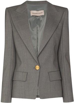 Alexandre Vauthier Single-Breasted Blazer Jacket