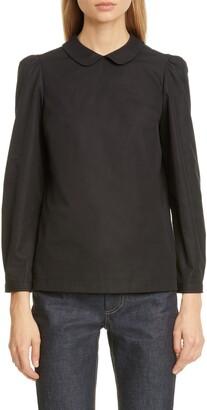 Marc Jacobs Peter Pan Collar Poplin Shirt