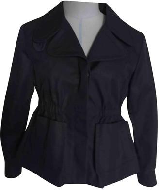 Miu Miu Blue Cotton Jacket for Women