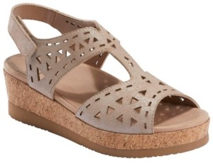 Earth Women's Buran Rosa Cork Platform Sandal Women's Shoes