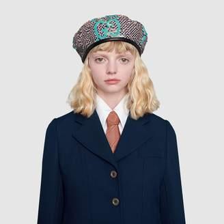 Gucci GG sequin beret