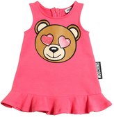Moschino Bear Printed Cotton Dress