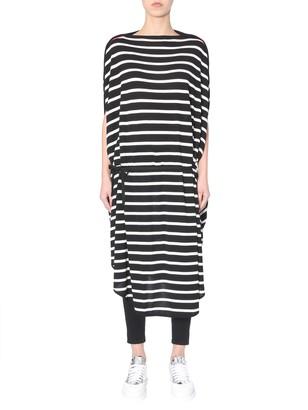 MM6 MAISON MARGIELA Striped Midi Dress