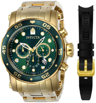 Invicta Men's Pro Diver Watch With Interchangeable Strap