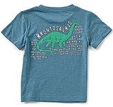 First Wave Little Boys 2T-7 Dinosaur Short-Sleeve Tee