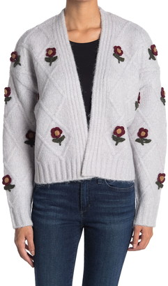 Cliche Knitted Flower Cardigan