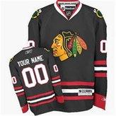 XingL Chicago Blackhawks Patrick Kane Men's Custom Premier Hockey Jersey Black XXL