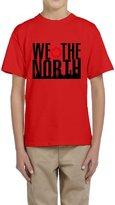 Hera-Boom Boys And Girls Toronto Raptors Basketball WE THE NORTH Skyline T-shirts