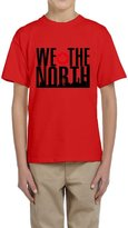 Hera-Boom Youth's Toronto Raptors Basketball WE THE NORTH Skyline T-shirts