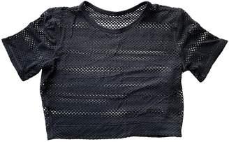 Lululemon Black Polyester Tops