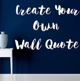 Wall Art Quotes & Designs By Gemma Duffy Custom Wall Stickers