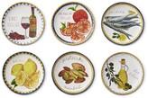 Williams-Sonoma Williams Sonoma Italian Icon Mixed Appetizer Plates, Set of 6