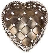 Cartier Heart Weave Basket Box
